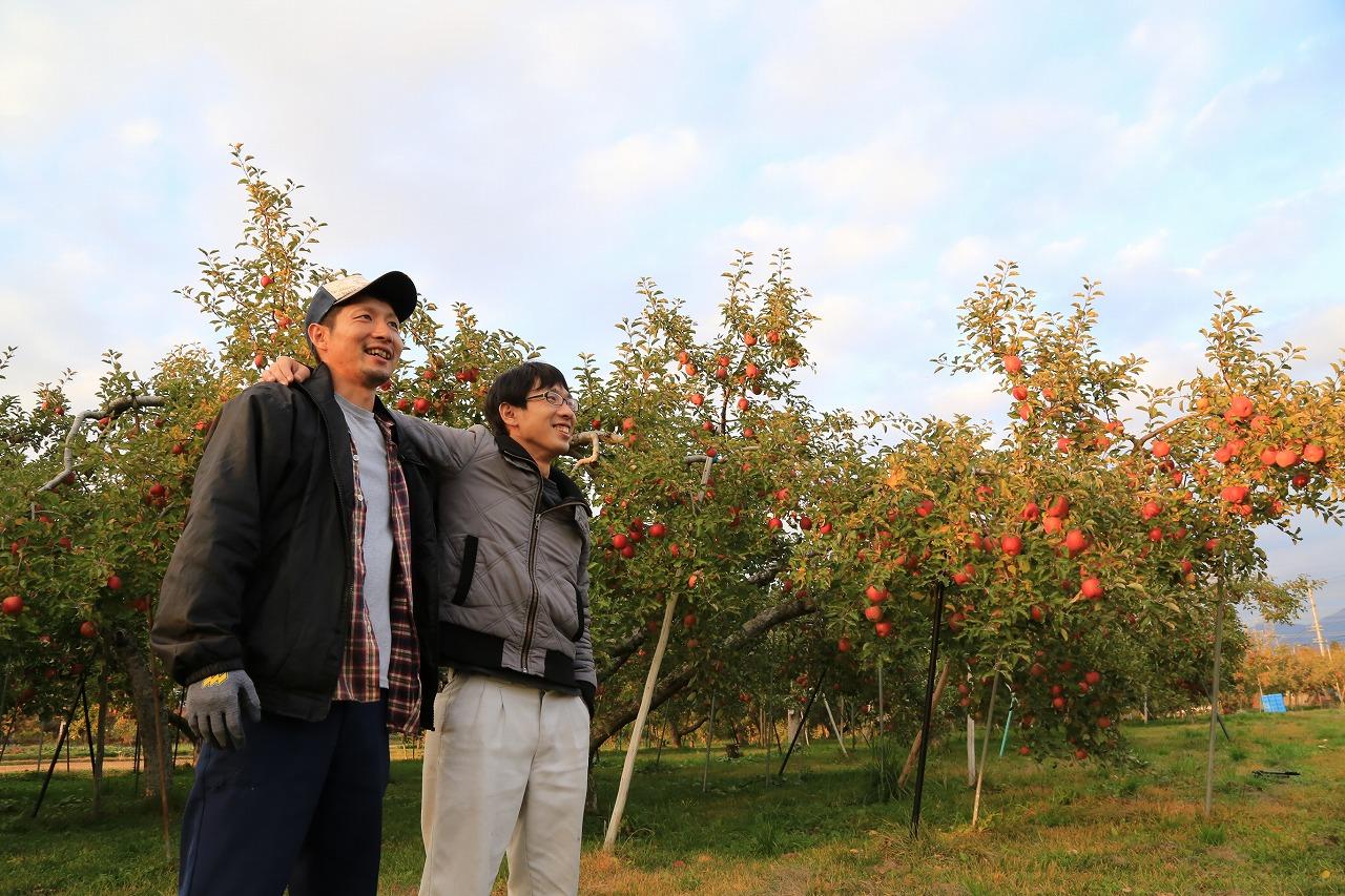 葉とらずりんご兄弟